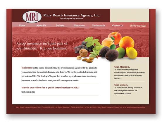 Mary Roach Insurance Inc.   www.mricrop.com
