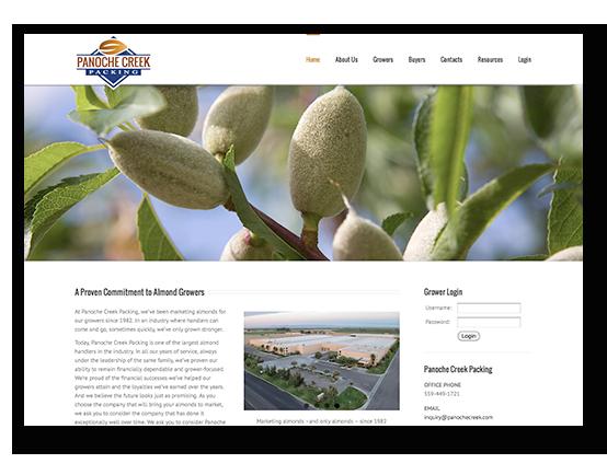Panoche Creek Packing Website